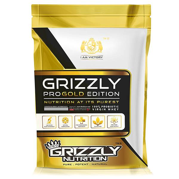 Grizzly Nutrition - Virgin whey protein
